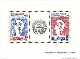 BLOC PHILEX FRANCE 1982 / 6031 - Blocs & Feuillets