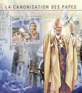 TOGO 2014 SHEET POPE JOHN PAUL II PAPE JEAN PAUL PAPA JUAN PABLO RELIGION Tg14604b - Togo (1960-...)