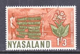 NYASALAND  130   **  TOBACCO  HARVEST - Nyasaland (1907-1953)