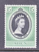 ADEN  47  *  QE II  CORONATION  1953 - Aden (1854-1963)