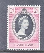 BASUTOLAND  45  *   QE II  CORONATION  1953 - Basutoland (1933-1966)