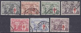 Belgium 1934 TBC Mi#386-392 COB#394-400 Used - Usati