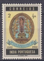 Portugal India 1952 Mi#482 Mint Hinged - Inde Portugaise