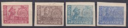 Aghanistan UPU 1951 Mi#373-376 B Mint Never Hinged - Afghanistan