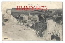 CPA - Les Hôtels - La Plage, Bien Animée En 1908 - PUYS ( Dieppe ) 76 Seine Inf. - Edit. E. Marchand N° 1608 Recto-Verso - Dieppe