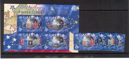 SAMOA 2005 50 Years Of Europa Stamps / Scott #s 1075-1078, 1078a (Souvenir Sheet) MNH - Europa-CEPT