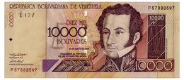 VENEZUELA 10000 BOLIVARES 2004 Pick 85d Unc - Venezuela