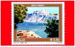Nuovo - MNH - ITALIA - 2010 - Turismo - 0,60 € • Isole Tremiti - 6. 1946-.. Republic