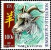 New Caledonia - 2003 - Chinese Horoscope - New Year Of The Goat - Mint Stamp - New Caledonia