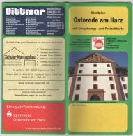 Osterode - Stadtplan - Strassenkarten