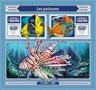 TOGO 2015 SHEET FISHES POISSONS PEIXES PECES MARINE LIFE Tg15609b - Togo (1960-...)
