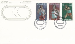 Canada FDC 1976 Montreal Olympic Summer Games (T16-29)