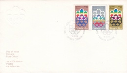 Canada FDC 1974 Montreal Olympic Summer Games (T16-29)