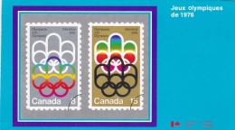 Canada 1976 Leaphlet About The Montreal Olympic Summer Games 1976 Issue (T16-29)