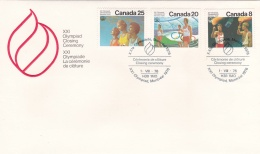 Canada Cover Montreal Olympic Summer Games - 1976 Closing Ceremony (T16-29)