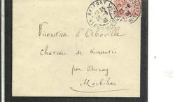 LETER 1903 BELFORT - Marcofilia (sobres)