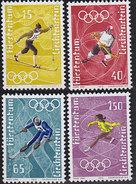 Liechtenstein. Jeux Olympiques à Sapporo 494/497