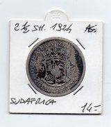 Sudafrica - 1924 - 2 E 1/2 Shilling - Argento - (FDC4608) - Sud Africa
