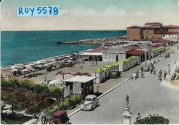 Toscana-livorno-cecina A Mare Spiaggia Animatissima Panoramica Veduta Differente Zona Bagni Armida Anni 50 - Italia