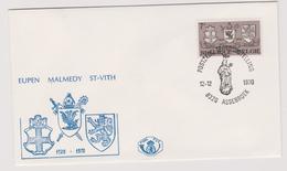 Enveloppe Brief Cover FDC 1er Jour 1566 Eupen Malmédy St-Vith Assebroek