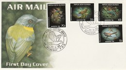 FDC - Papua New Guinea - 22/05/1986 (Oiseaux)  Port Moresby - Papouasie-Nouvelle-Guinée