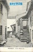 Toscana-pistoia-maresca Vicolo Medioevale Veduta Ragazza Seduta Sugli Scalini Primi 900 (fot. Vochieri) - Altre Città