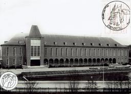 Mortsel - Prentkaart Met ATM En Stempel 1987 - Gemeentehuis. - Mortsel