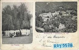Toscana-pistoia-maresca Vedute Primissimi 900 La Piazza Animata Panorama Cittadino - Italia