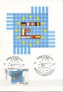 ITALIA - FDC MAXIMUM CARD 1992 - MERCATO UNICO EUROPEO - Cartoline Maximum