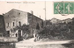 MONTCARET - L'ancien Bureau De Poste - Autres Communes