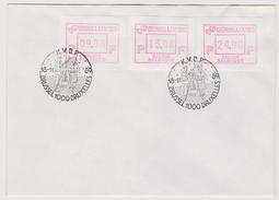 Enveloppe Brief Cover Vignette D'affranchissement Benelux K.V.P.D. Brussel Bruxelles - Vignettes D'affranchissement