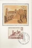 """BELG.1978 1888 FDC Card Zijde/soie : """"Norbertijnerabdij Grimbergen"""" - FDC"""