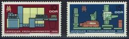 DDR 1966 - MiNr 1159-1160 -  Leipziger Frühjahrsmesse - Ungebraucht