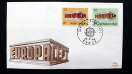 Belgien 1546/7 FDC, ESST Namur, EUROPA/CEPT 1969