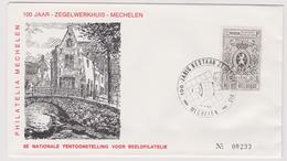 Enveloppe Brief Cover FDC 1447 Mechelen Nationale Tentoonstelling Voor Beeldfilatelie