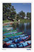 1 AK Nepal * Boote Auf Dem Phewa Lake Bei Phokara - Zweitgrößter See Nepals * - Nepal