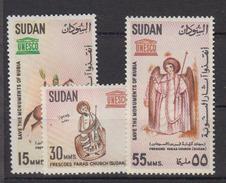 SOUDAN    1964        N. 162 / 164         COTE     2 , 50   EUROS        ( 1091 ) - Soudan (1954-...)