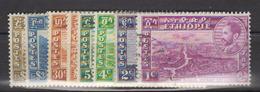 ETHIOPIE    1947            N.    257 / 268        COTE     32 , 00   EUROS        ( 1097 ) - Ethiopie