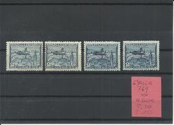 ESPAÑA EDIFIL  769  ( 4 SELLOS)    MNH  ** - 1931-50 Nuevos & Fijasellos