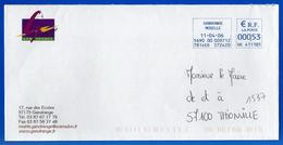 Mairie (1537) GANDRANGE 57175 - 11 04 2006 - Marcophilie (Lettres)