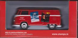 Iceland Miniature Model Nr. 7 - DG73 VolksWagen Kombi Van - Issued By The Icelandic Post - Discontinued - Auto's, Vrachtwagens, Bussen
