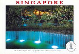 1 AK Singapur * The Cascades  Waterfall At The Singapore Botanic Gardens - Seit 2015 UNESCO Weltkulturerbe - Singapour