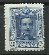 ESPAÑA EDIFIL  319   MNH  ** - 1889-1931 Reino: Alfonso XIII