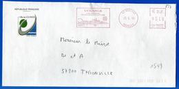 Mairie (1549) UCKANGE 57270 - 23 03 2006 - Marcophilie (Lettres)