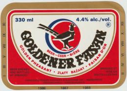 Bier Label Rakovník From Czech Republic) - Bier