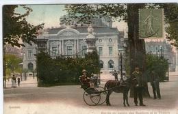 (28) CPA  Geneve  Entrée Du Jardin Des Bastions  (bon Etat) - GE Genève