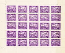 Afganistan 1939, 25val In Sheetlet - Afghanistan
