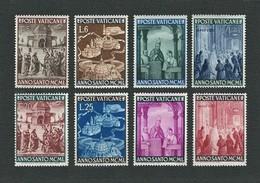 Città Del VATICANO 1949 - Anno Santo 1950 - 8 Valori - MH - Sa:VA 132-39 - Vaticano