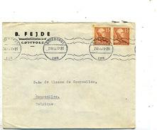 Suède Pli De Göteborg Pour La Belgique 1945 - Lettres & Documents