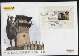 K 01 ) Germany 2007 Beautiful Large FDC  - UNESCO World Cultural Heritage LIMES  // Free Shipping To - Summer 2008: Beijing